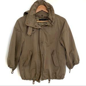 Zara Army Green Utility Jacket